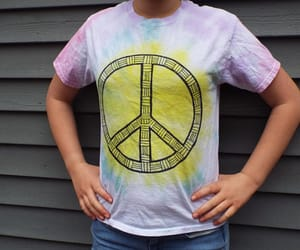 etsy, tie dye, and girls image