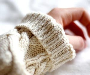 hand, sweater, and photography image