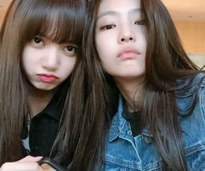 lisa, blackpink, and jennie image