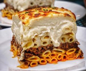 bake, lasagna, and pasta image