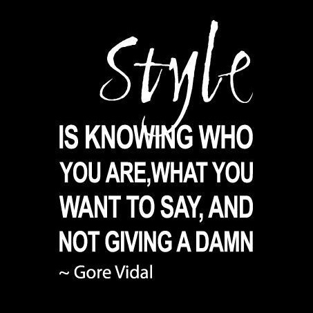 Quotes Quote About Style From Writer Gore Vidal