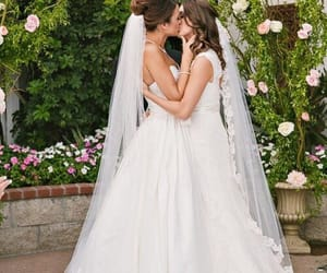 lesbian, love, and wedding image
