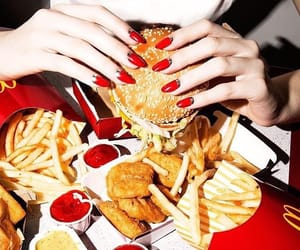 america, food, and fries image