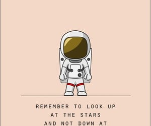 quotes, astronauta, and background image