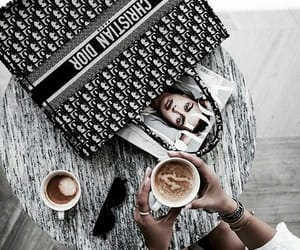 coffee, fashion, and chic image