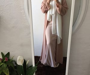 clothes, girl, and hijab image