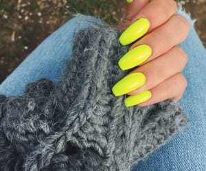 green, nail, and nails image
