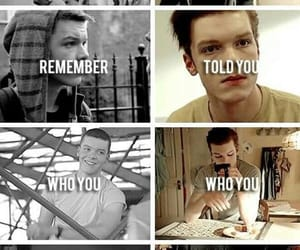 shameless, ian gallagher, and love image