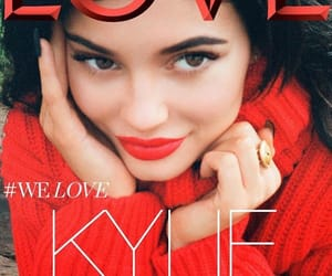magazine, kylie jenner, and love image