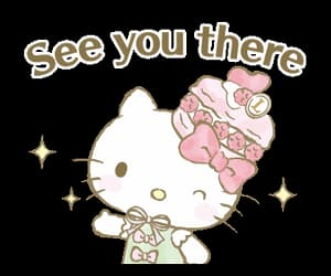 gif, hello kitty, and cute image