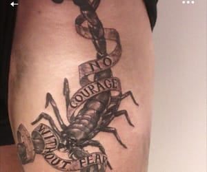 scorpio, scorpion, and tattoo image
