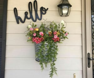 home, decor, and flowes image