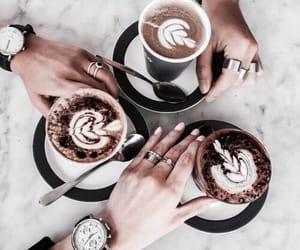 coffee, drinks, and marble image