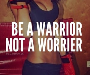 warrior, motivation, and fit image