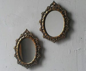 mirror, grunge, and vintage image