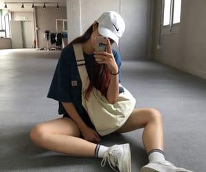 fashion, girl, and aesthetic image