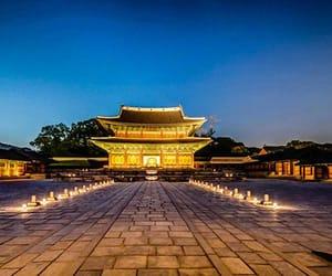 korea, moonlight, and south korea image