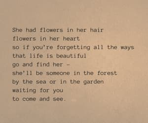 quote, girl, and poem image