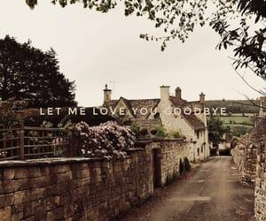 goodbye, Lyrics, and song image