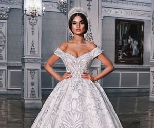 beauty, style, and wedding image