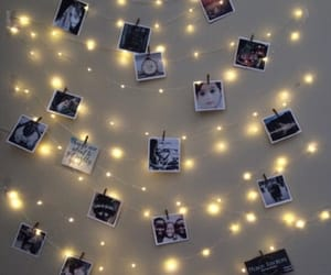 aesthetic, fairy lights, and decorations image