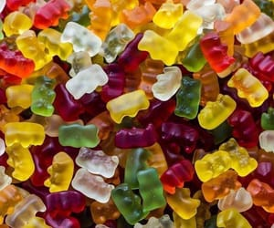 colorful and gummy bears image