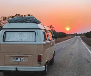 adventure, road, and hippies image