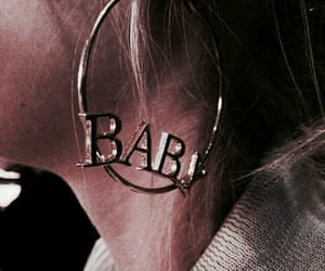 baby, earrings, and jewelry image