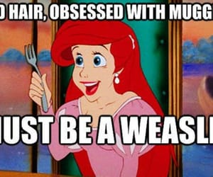 disney, harry potter, and ariel image