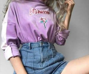 fashion, purple, and alternative image