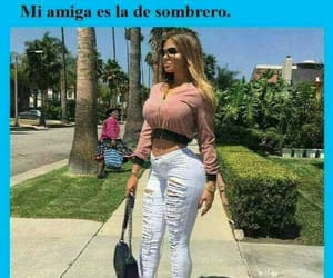memes, mujer, and chiste image