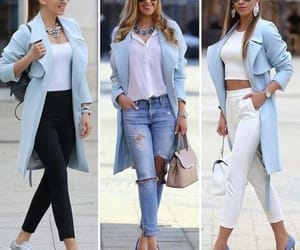 light blue outfits spring image