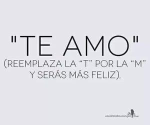 frases, te amo, and me amo image