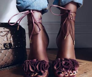 accessories, heels, and sandals image