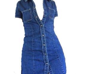 denim, dress, and jean image