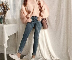 chic, rose, and clothes image
