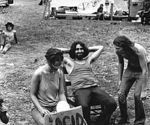 acid, drugs, and hippie image