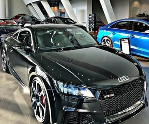audi, black, and class image