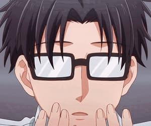 anime, gif, and wotaku ni koi image