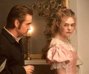 the beguiled, colin farrell, and Elle Fanning image