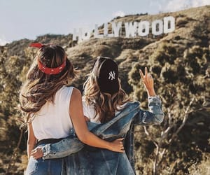 hair goals and bff goals image