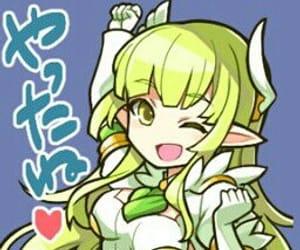 anime girl, kawaii, and elsword image