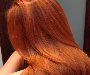 fashion, hair, and orange image