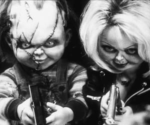 Chucky and tiffany image