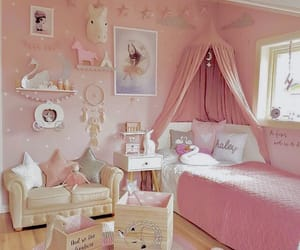 bedrooms, girly, and girls room image