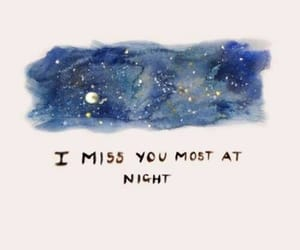 night, love, and quotes image