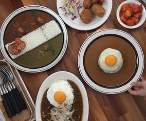 egg, korean food, and food image