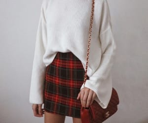 casual, fall, and white sweater image