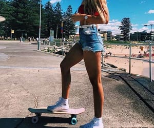 board, girl, and lifestyle image