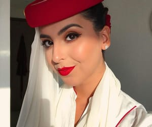 aviation, journey, and makeup image